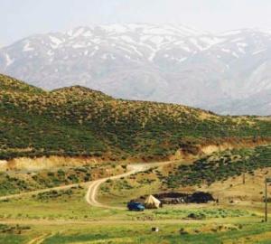 The Zagros Mountains. Credit: Ninara